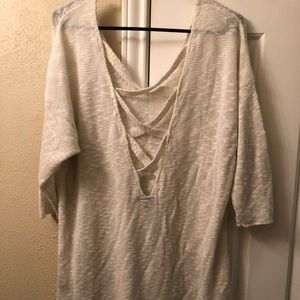 Torrid Strappy Back Sweater